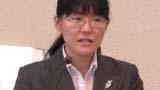 Seminary student Ayako Ogawa in action